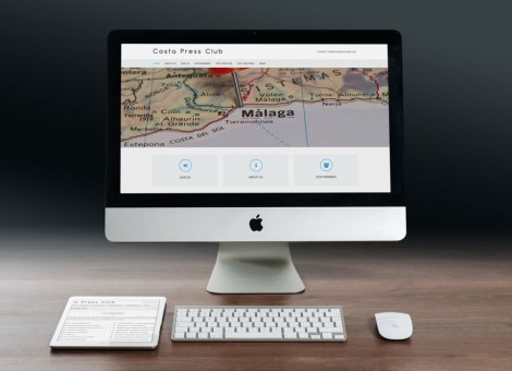 New website for Costa Press Club